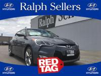 You can find this 2013 Hyundai Veloster w/Black Int and