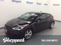 W/Black Int trim. CARFAX 1-Owner. FUEL EFFICIENT 37 MPG