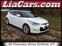 2013 Hyundai Veloster in Elite White Pearl and 1