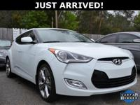 Just Reduced! This Veloster features:  Clean CARFAX.