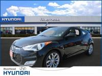 This 2013 Hyundai Veloster w/Black Int won't last much
