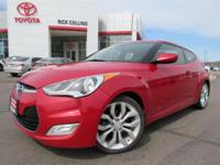 This 2013 Hyundai Veloster comes equipped with