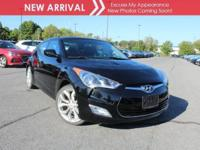 New arrival! 2013 Hyundai Veloster! This vehicle has a
