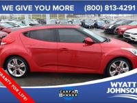 This 2013 Veloster is for Hyundai enthusiasts who are
