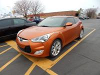 We are excited to offer this 2013 Hyundai Veloster. How
