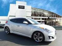 This Economy Certified 2013 Hyundai Veloster Turbo with