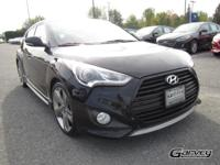 Sporty Hyundai Veloster Turbo! The bold design features