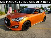 2013 Hyundai Veloster Turbo w/Black Odor Free Interior,