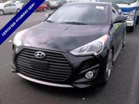 **WOW! FLAWLESS HYUNDAI CERTIFIED 2013 VELOSTER! *10