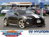 * CLEAN CARFAX * and ** ONE OWNER **. Veloster Turbo,