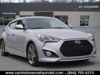 New Price! 2013 Hyundai Veloster Turbo Gray Clean