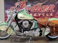 2013 Indian Chief Vintage Last Willow Green & Ivory