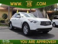 Options:  2013 Infiniti Fx37 Has Such Low Mileage