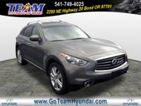 Come test drive this 2013 INFINITI FX37! Distinctive