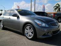Priced below KBB Fair Purchase Price! 2013 INFINITI G37