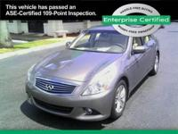 2013 Infiniti G37 Base Our Location is: Enterprise Car
