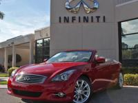 2013 Infiniti G37 Convertible Base, Certified Pre-Owned