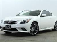 PURCHASE WITH CONFIDENCE! CARFAX 1-Owner G37 Coupe and