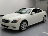 2013 Infiniti G37 with 3.7L V6 Engine,Automatic