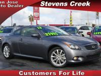 Options:  2013 Infiniti G Coupe Coupe|Gray|3.7L