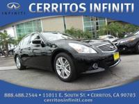 1 OWNER, CERTIFIED 2013 Infiniti G37 Sedan with Premium