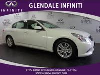 Come see this certified 2013 Infiniti G37 Sedan