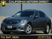 Options:  2013 Infiniti G37 Sedan Journey|Carfax