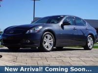 2013 INFINITI G37 Journey in Pacific Sky, This G37