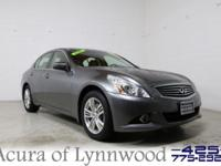 2013 Infiniti G37 X AWD. Acura of Lynnwood means