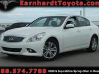 We are delighted to offer you this 2013 Infiniti G37x