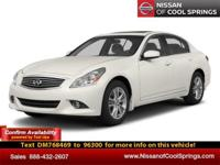 LIVE VIDEO LINK!   This Sporty pre-owned 2013 Infiniti