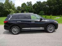 This 2013 Infiniti JX35 comes equipped with everything