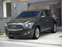 More is what you get!!!!! This beautiful 2013 INFINITI