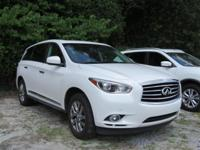 Moonlight White 2013 INFINITI JX35 FWD Sport-Tuned CVT