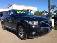 Options:  2013 Infiniti Jx35|Black|6 Speakers|Am/Fm