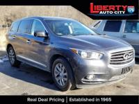 CARFAX One-Owner. Emerald Graphite 2013 INFINITI JX35
