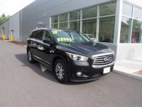 This SUV i sweet!!  It is a one-owner Infiniti with a