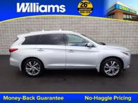 Options:  2013 Infiniti Jx35|Glacial