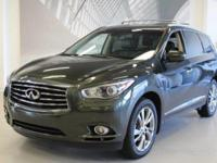 This 2013 Infiniti JX35 DVD 3rd Row Seat is Price Below