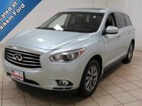This 2013 Infiniti JX35 is a low mileage, luxury SUV