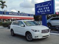 Options:  2013 Infiniti Jx35|Join Us At Michael's Auto
