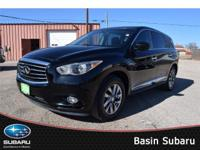 The 2013 INFINITI JX35 AWD shown in gorgeous Black