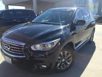 We are excited to offer this 2013 INFINITI JX35. Your