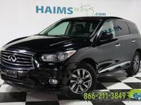 This is a Clean Title, One Owner 2013 INFINITI JX35, it