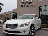 2013 Infiniti M35h Hybrid, Certified Pre-Owned, Only