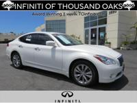 Options:  2013 Infiniti M37 4Dr Sdn Rwd|Certified