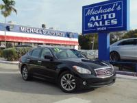 Options:  2013 Infiniti M37 X|Black|Awd. Drive This