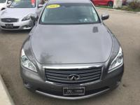 Options:  2013 Infiniti M37 X|Gray|Infiniti Certified