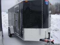 2013 Interstate cargo trailer 6x12 foot with