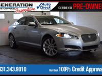 New Price! Silver 2013 Jaguar XF Supercharged AWD